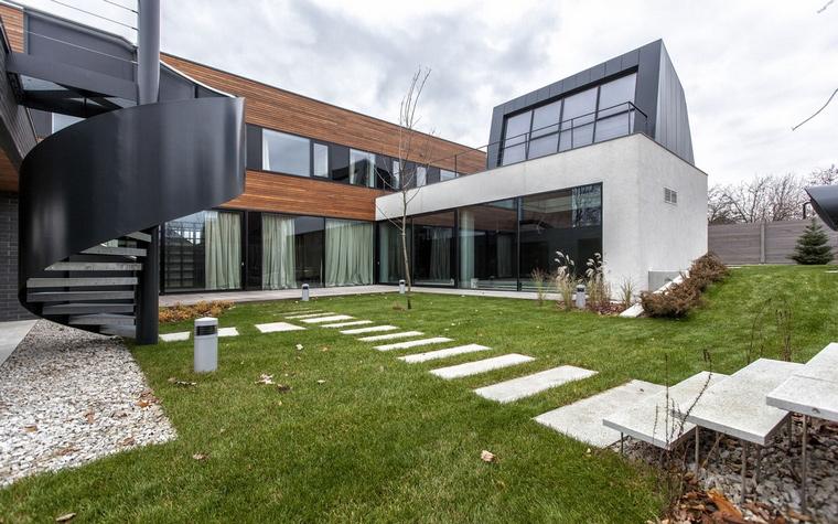 Загородный дом. фасад из проекта , фото №64151