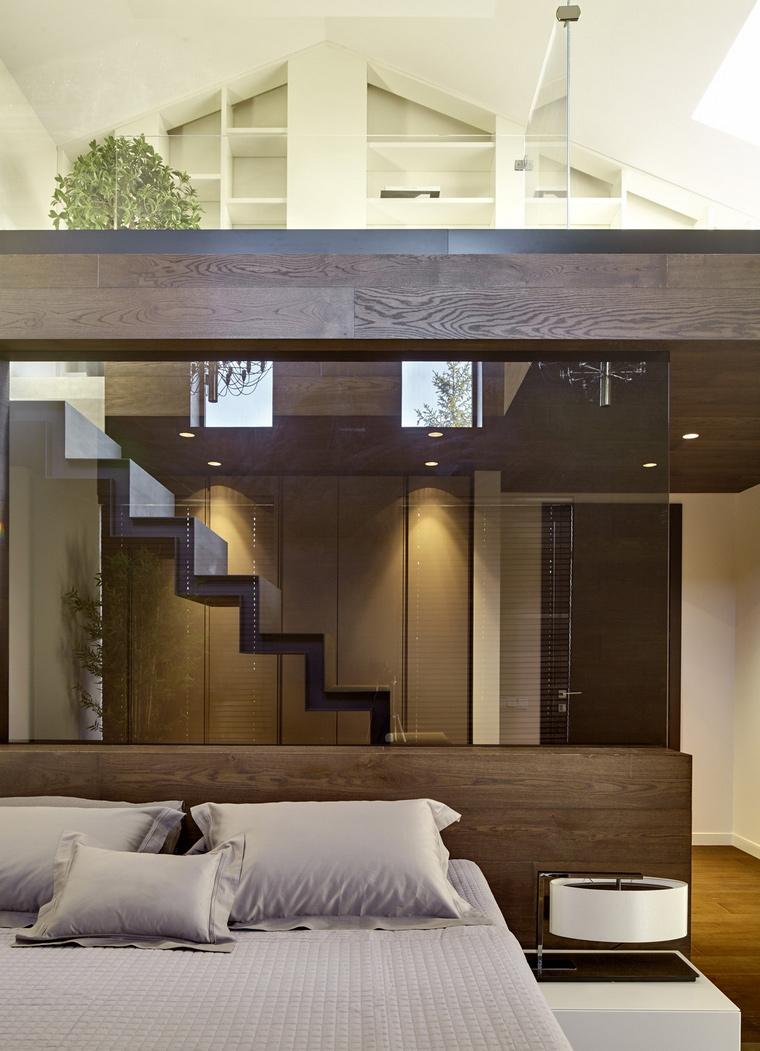 интерьер спальни - фото № 64547