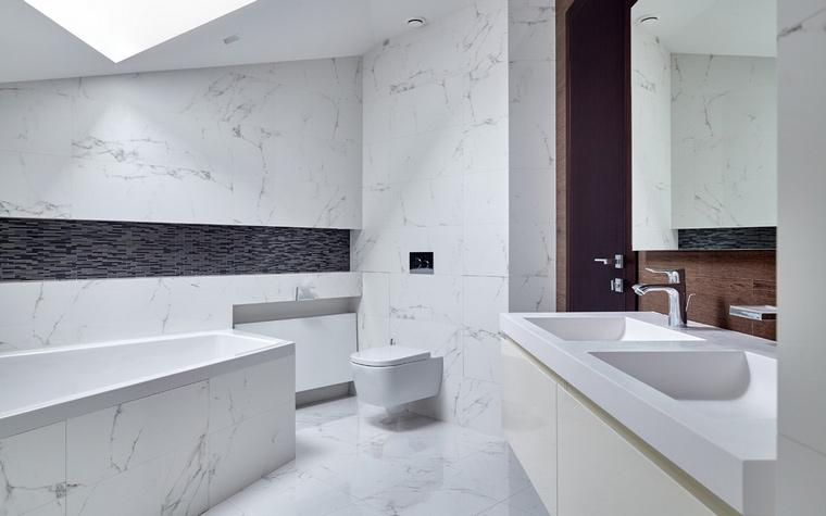Фото № 64560 ванная  Загородный дом