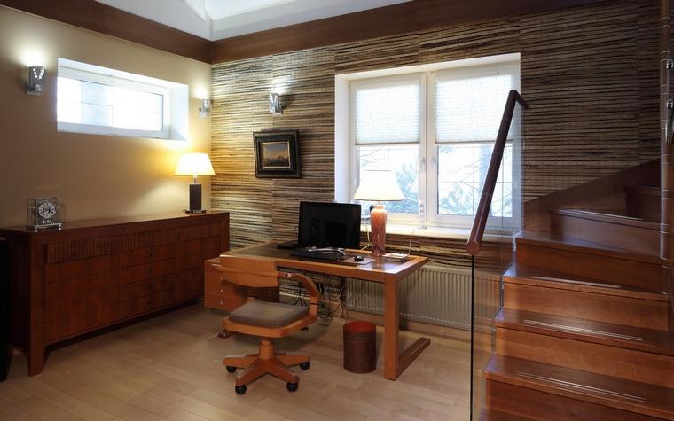 Фото № 64604 кабинет библиотека  Загородный дом