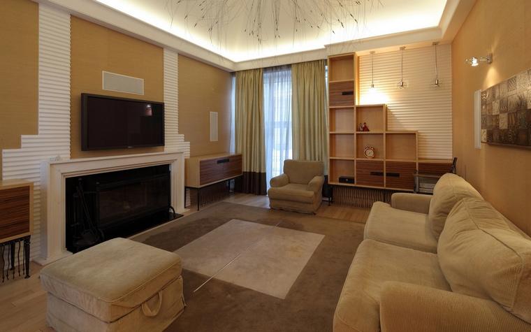 Фото № 64610 гостиная  Загородный дом