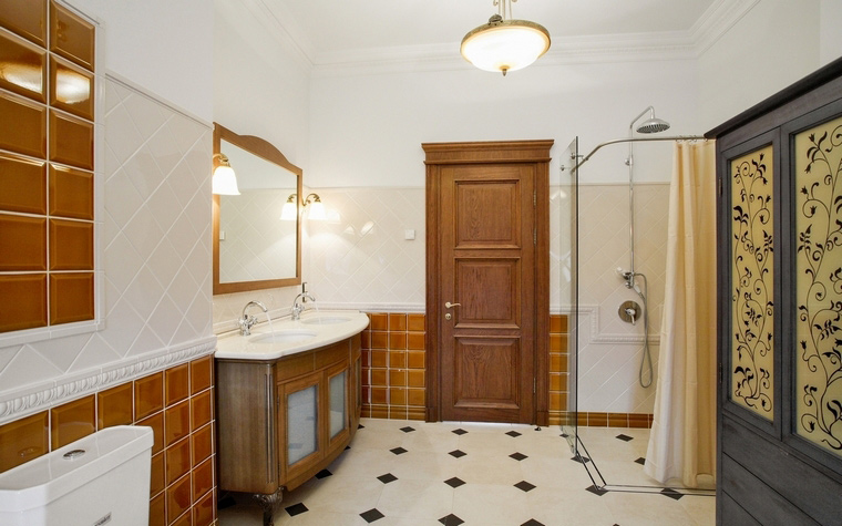 Фото № 64627 ванная  Загородный дом