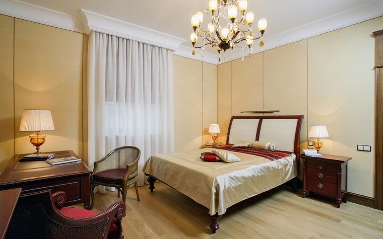 Фото № 64621 спальня  Загородный дом