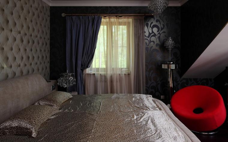 Фото № 64643 спальня  Загородный дом