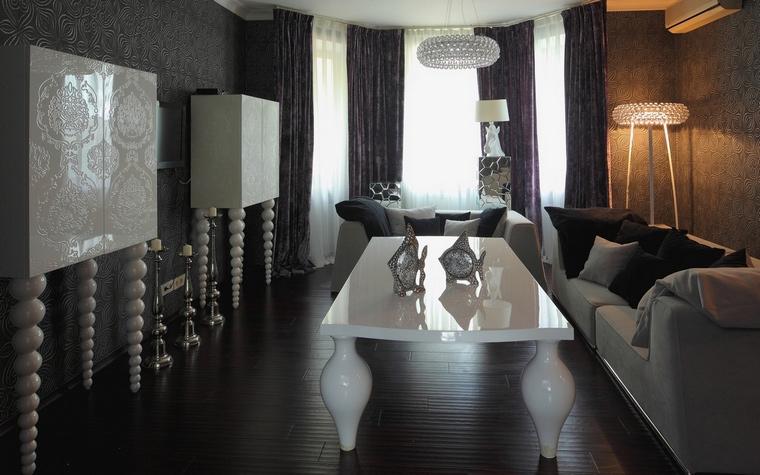 Фото № 64640 гостиная  Загородный дом