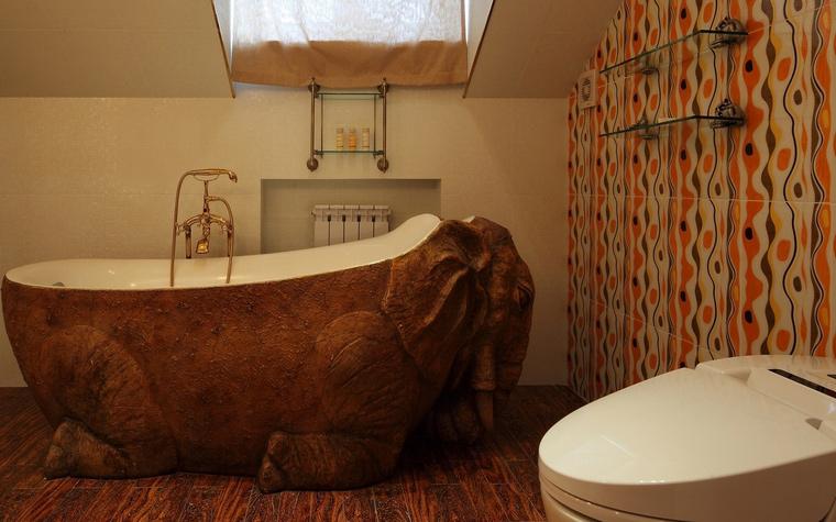 Загородный дом. ванная из проекта , фото №64646