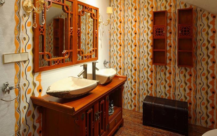 Фото № 64647 ванная  Загородный дом