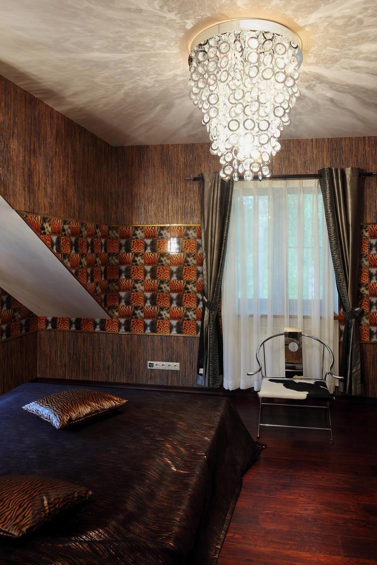 Фото № 64644 спальня  Загородный дом