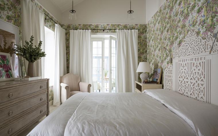 Фото № 64671 спальня  Загородный дом