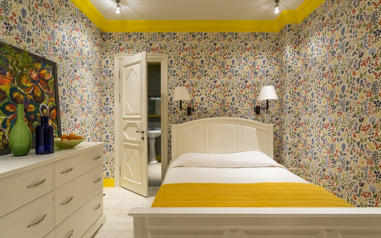интерьер спальни - фото № 64674