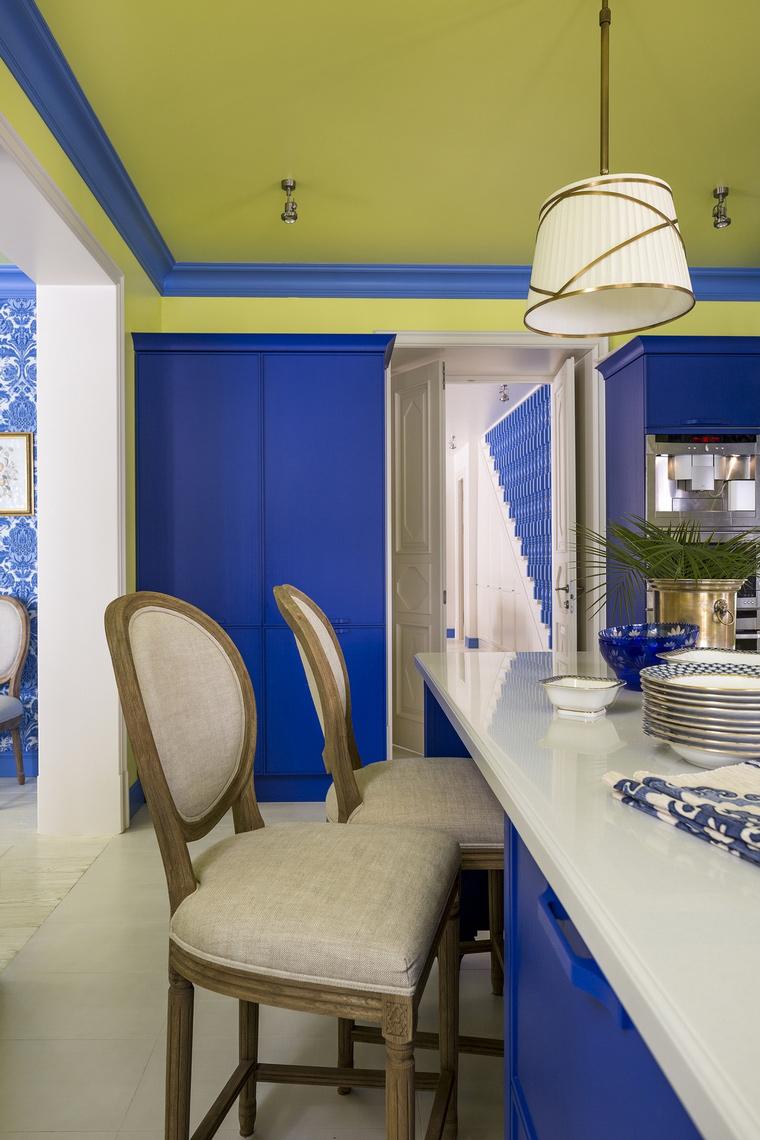Фото № 64669 кухня  Загородный дом