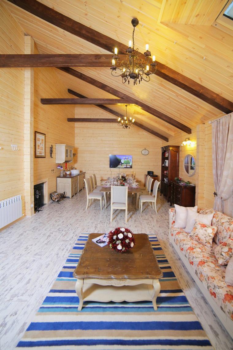 Загородный дом. гостиная из проекта , фото №64773