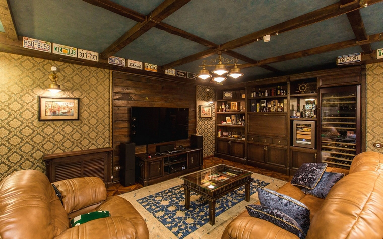 интерьер гостиной - фото № 64787