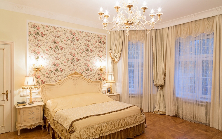 интерьер спальни - фото № 64871