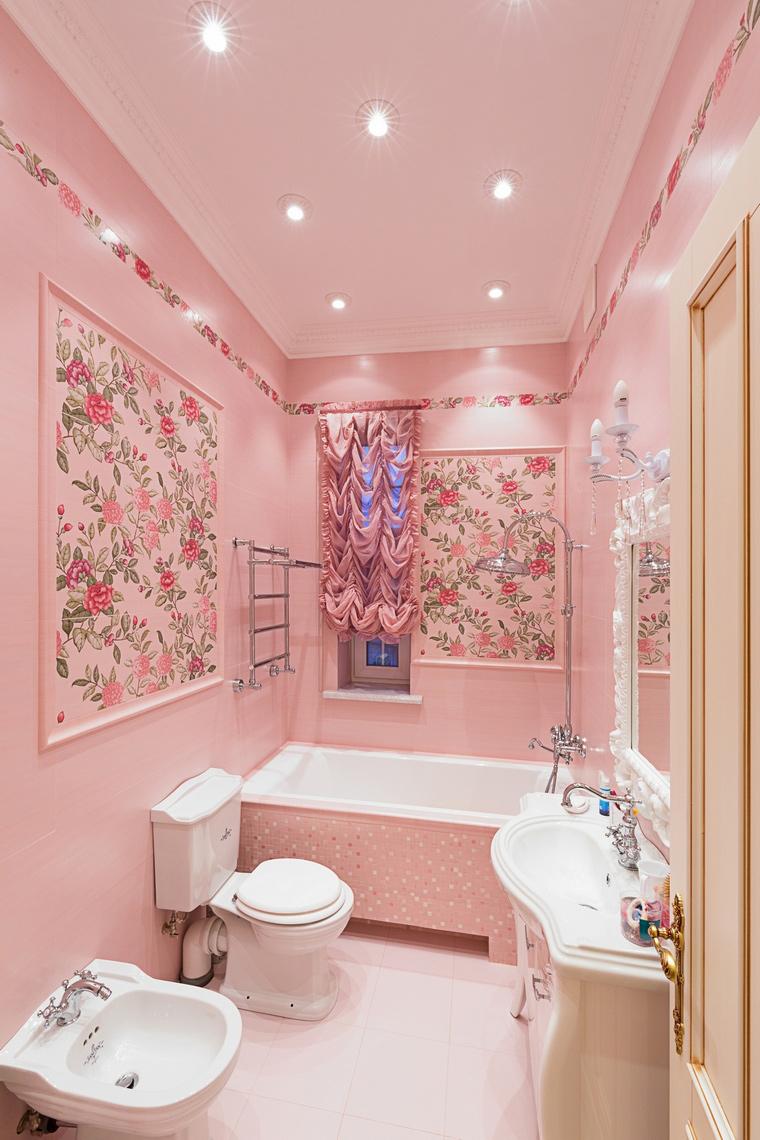 Фото № 64878 ванная  Загородный дом