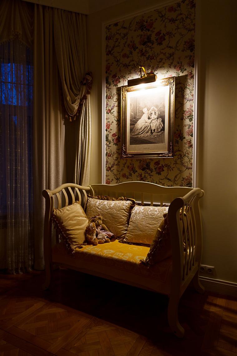 Фото № 64876 спальня  Загородный дом