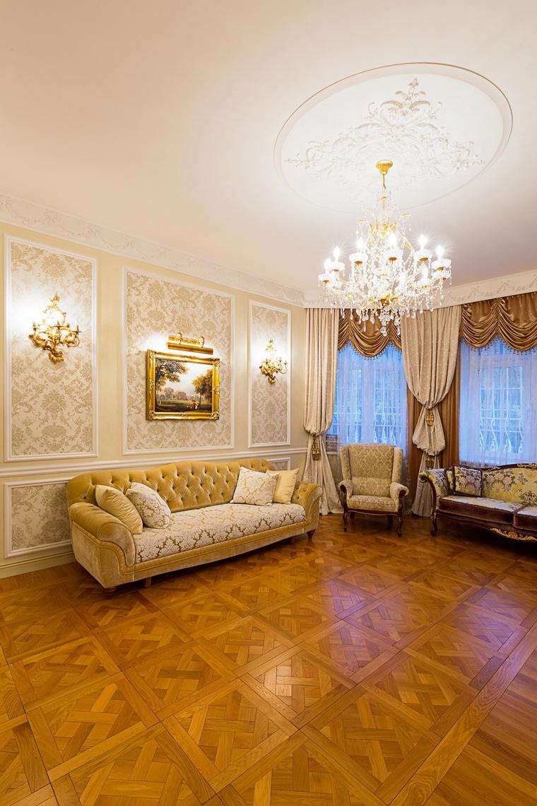 интерьер гостиной - фото № 64869
