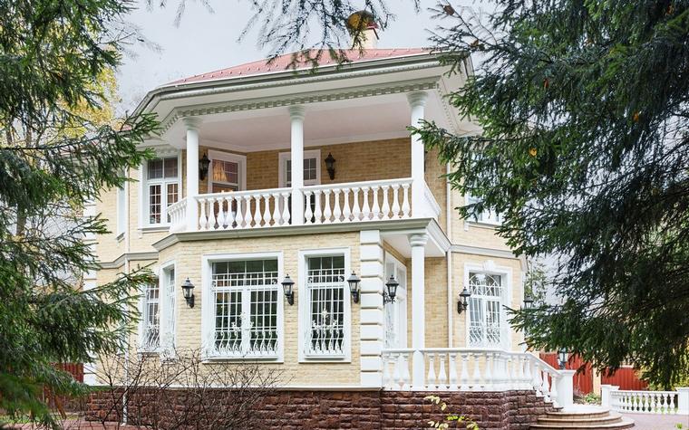 Загородный дом. фасад из проекта , фото №64957