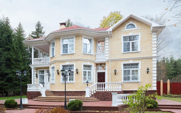 Загородный дом. фасад из проекта , фото №64958