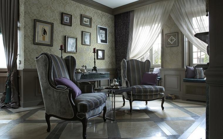 интерьер гостиной - фото № 65259