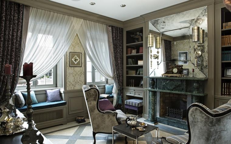 интерьер гостиной - фото № 65260