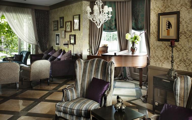 интерьер гостиной - фото № 65262