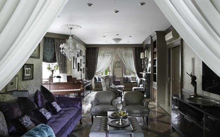 интерьер гостиной - фото № 65263