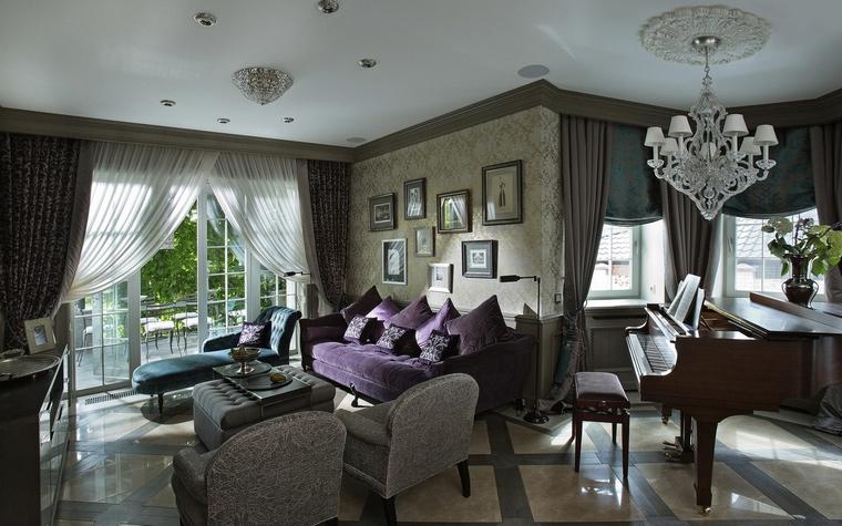 интерьер гостиной - фото № 65258