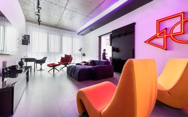 интерьер гостиной - фото № 65495