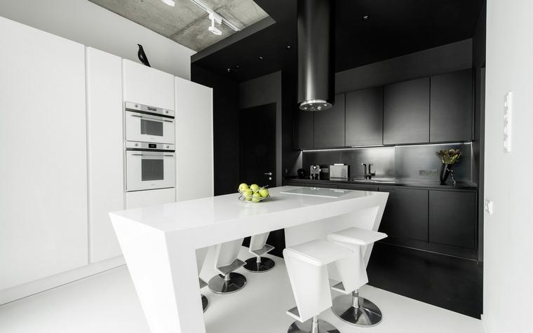 Квартира. кухня из проекта , фото №65500