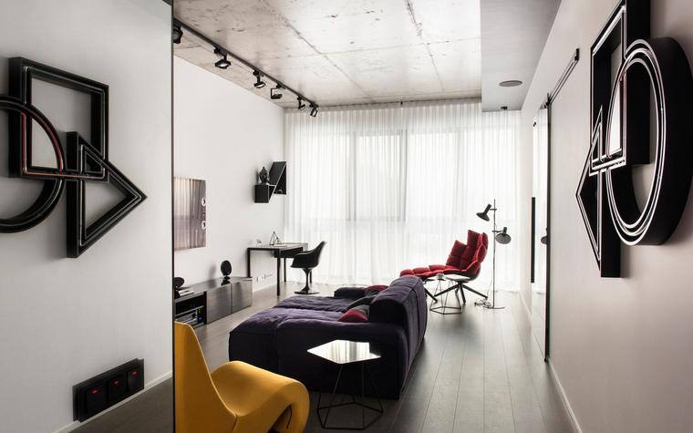 интерьер гостиной - фото № 65492
