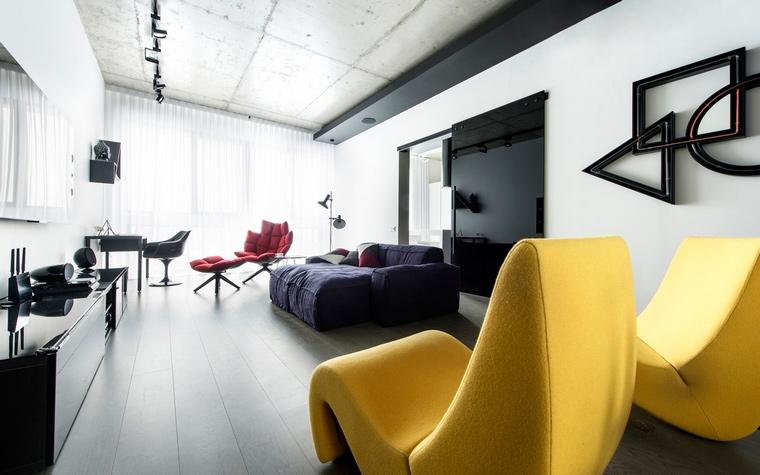Фото № 65493 гостиная  Квартира