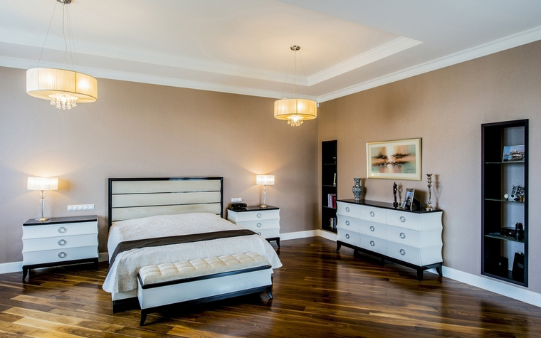 интерьер спальни - фото № 65582
