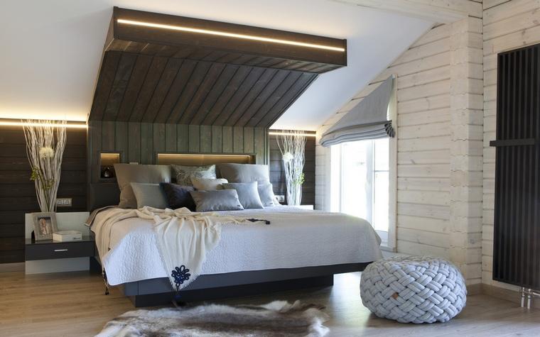 Фото № 65617 спальня  Загородный дом