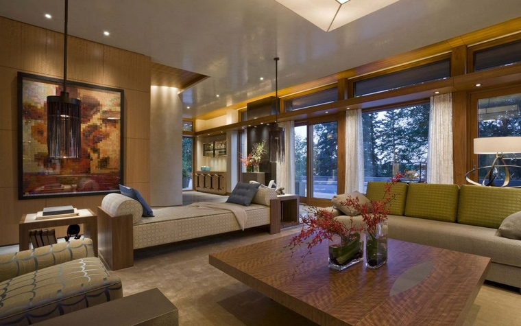 интерьер гостиной - фото № 65734