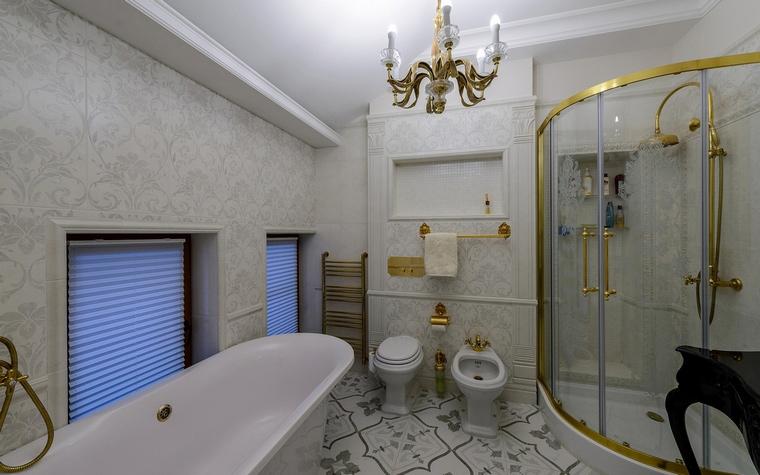 Загородный дом. ванная из проекта , фото №65900