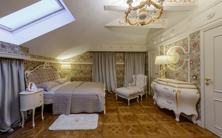 интерьер спальни - фото № 65889