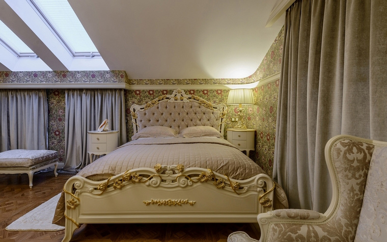 интерьер спальни - фото № 65890