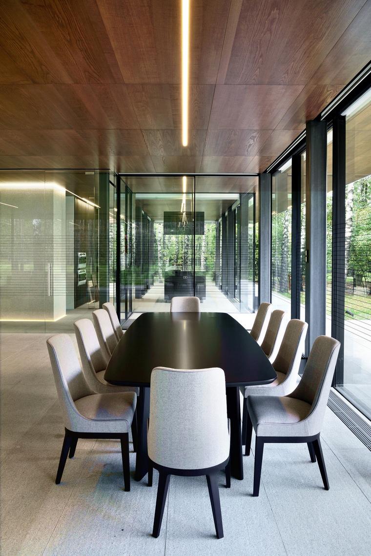 интерьер столовой - фото № 66377