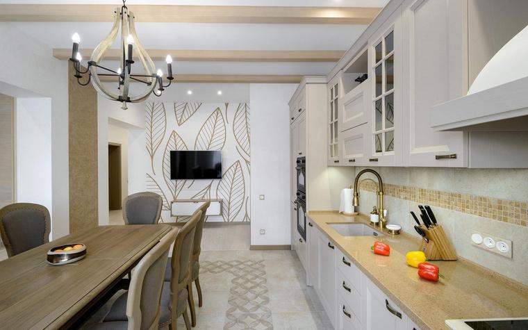 Фото № 66567 кухня  Загородный дом