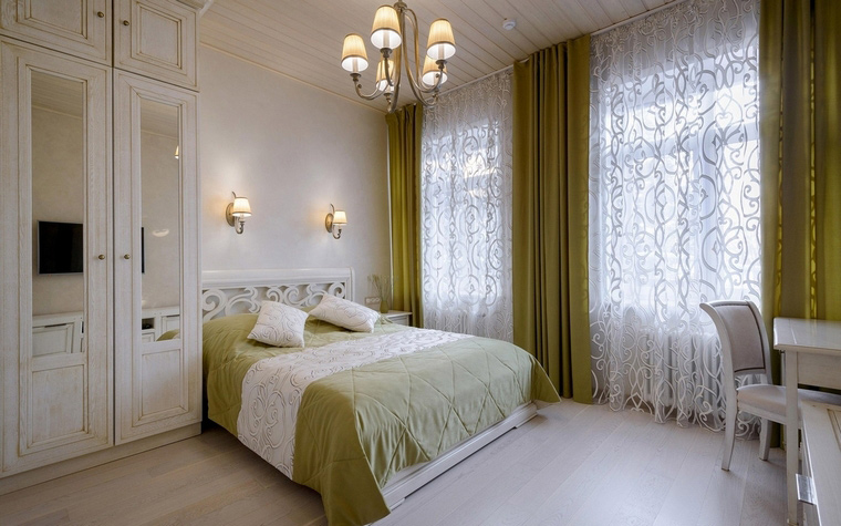 Фото № 66575 спальня  Загородный дом