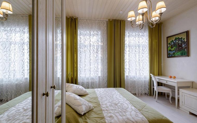 Фото № 66573 спальня  Загородный дом