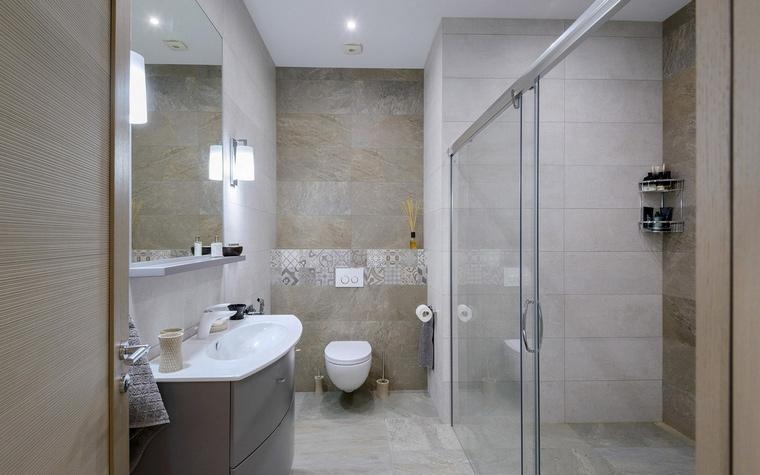 Фото № 66579 ванная  Загородный дом