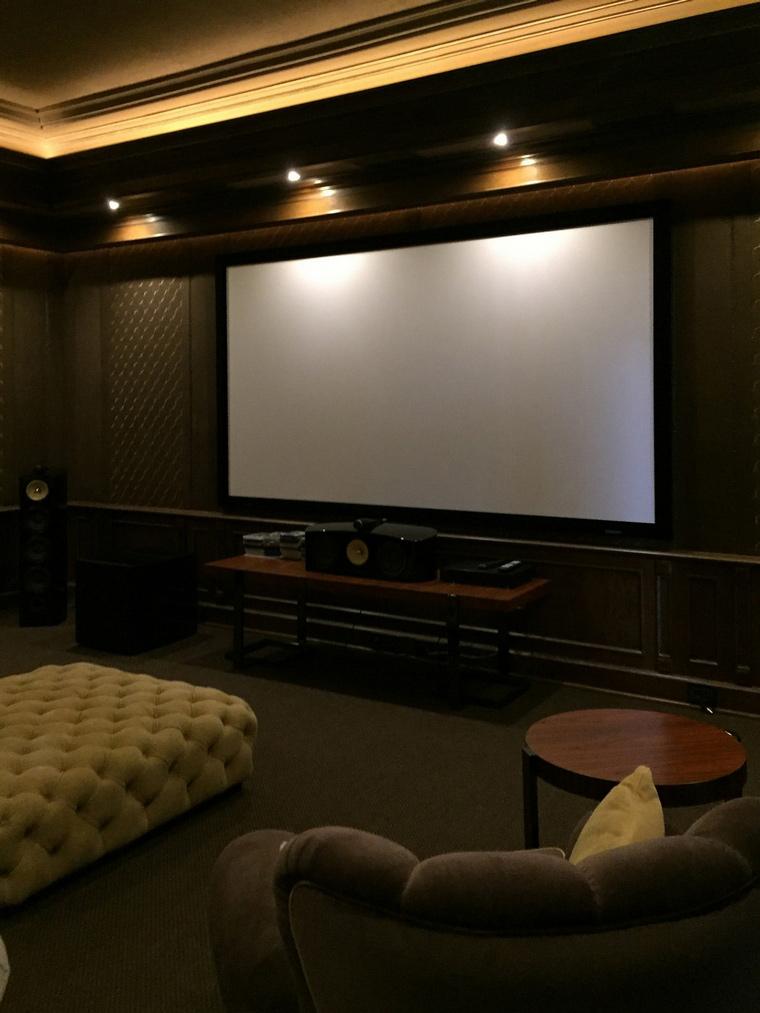 Фото № 66631 домашний кинотеатр  Загородный дом