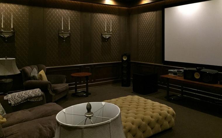 Фото № 66632 домашний кинотеатр  Загородный дом
