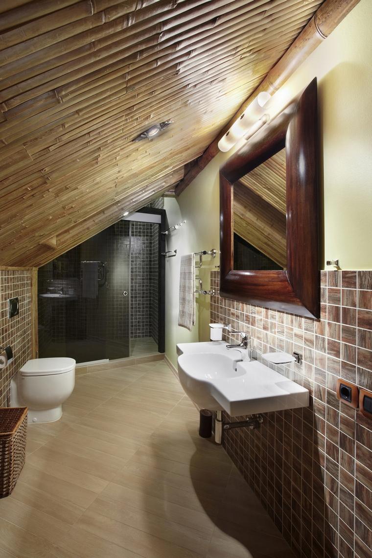 Фото № 66870 ванная  Загородный дом