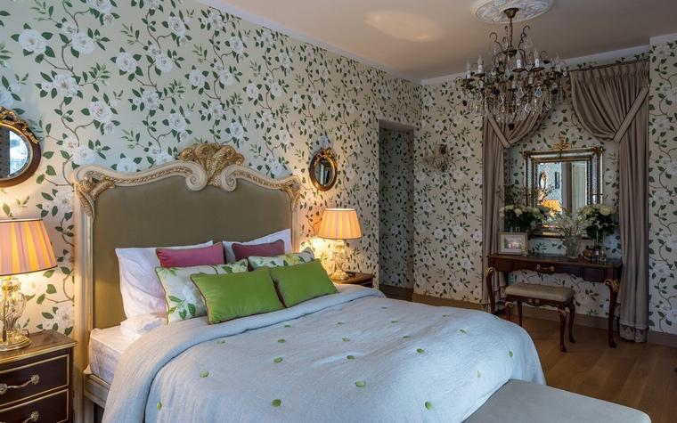 Фото № 67123 спальня  Загородный дом