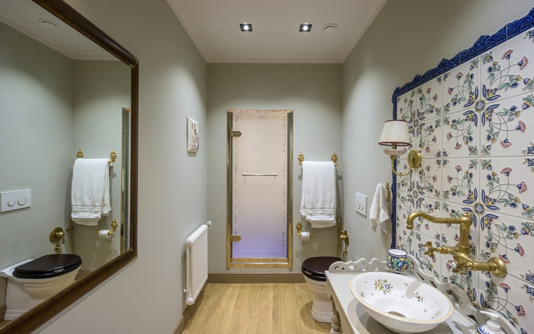 Фото № 67134 ванная  Загородный дом