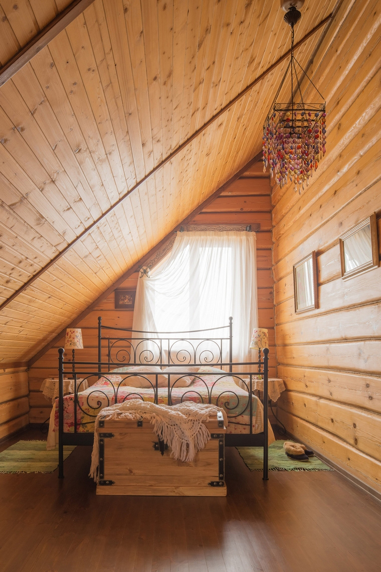 интерьер спальни - фото № 67590