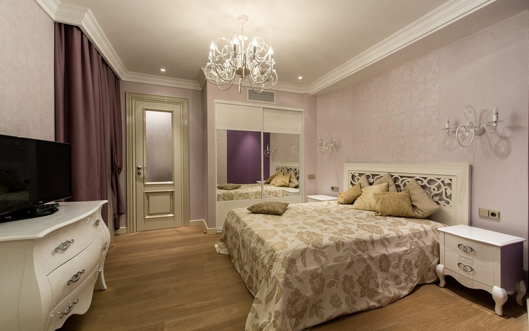 интерьер спальни - фото № 68192